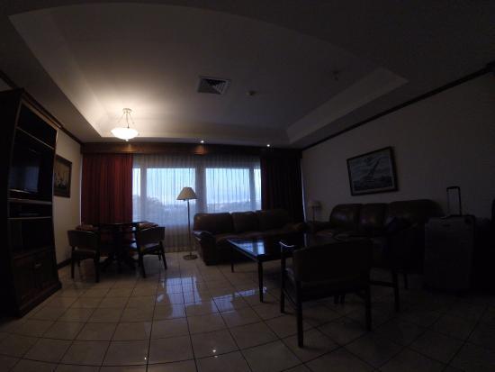 Apartotel & Suites Villas del Rio: Sala de estar