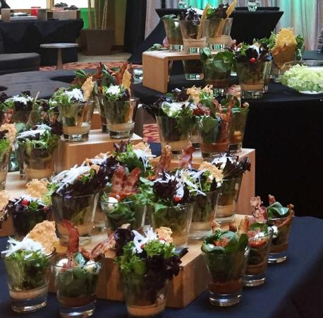 Frisco, Τέξας: Salad Display