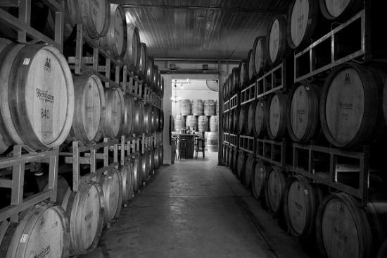 Ramat Hasharon, Israel: Wine Oak Barrels