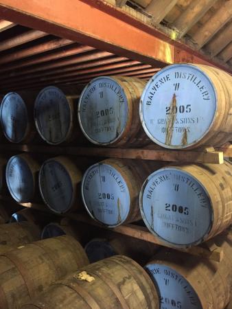 Dufftown, UK: The Balvenie Distillery