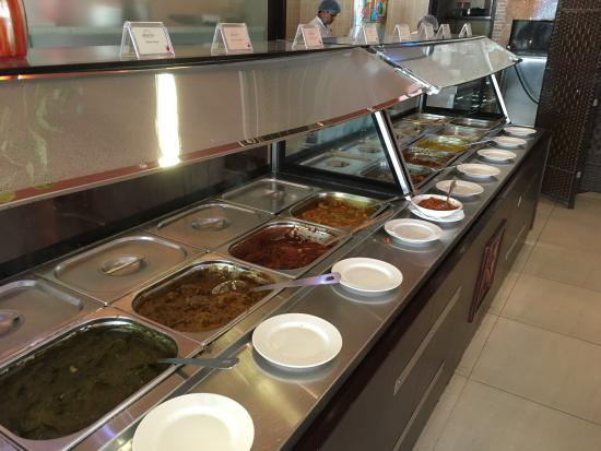 buffet lunch picture of aalishan indian restaurant doha tripadvisor rh tripadvisor com