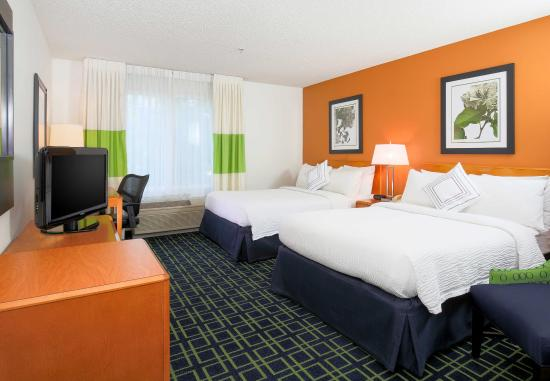 Fairfield Inn & Suites Reno Sparks: Double/Double Guest Room