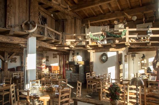 La Rosiere, Frankreich: la salle de restaurant