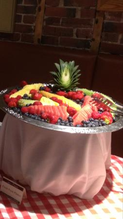 Montpelier, VT: One of our Fruit Platters for Events