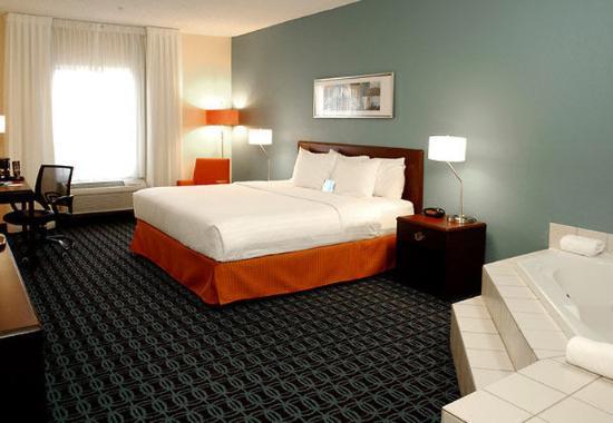 Kalamazoo, MI: Spa King Guest Room