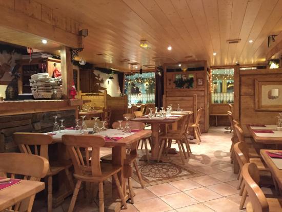La Rosiere, Frankreich: La salle à manger