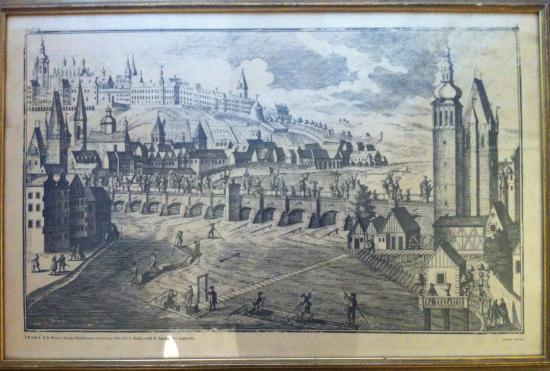 Arco: Prague in 1740. If you stay with us, you'll learn a lot about Prague...