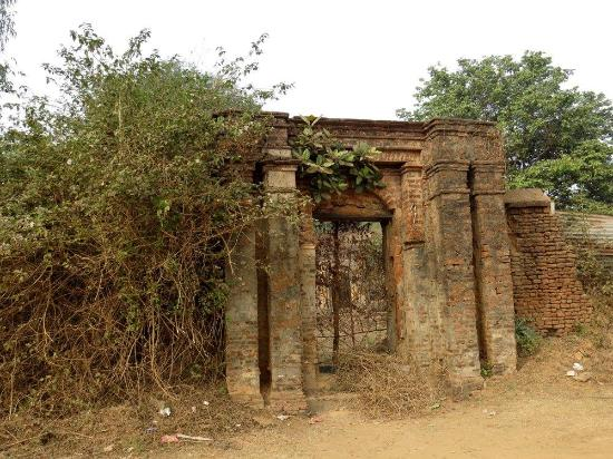 Mukutmanipur, อินเดีย: Bishnupur Malla King's Palace remains