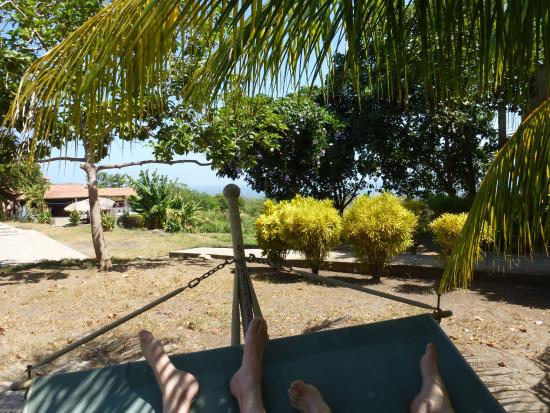 Altagracia, Nicaragua: From a hammock in the back yard