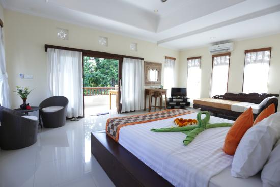 Karang Mesari Ubud Bungalow : Superior double room