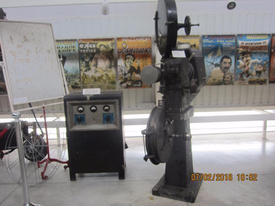 Museu Mazzaropi: Máquina usada no século passado