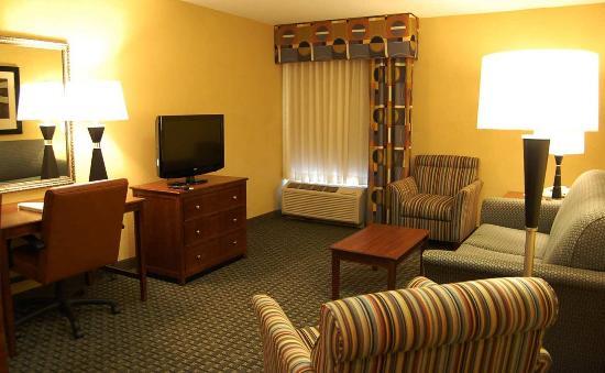 Batesville, IN: Suite Living, TV Area