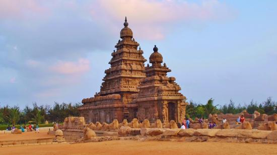 Monuments at Mahabalipuram