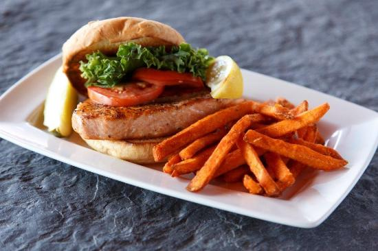 Proctor, MN: Salmon Sandwich