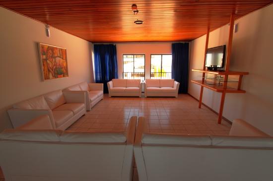 Hotel Atlantico: Sala de Tv e Jogos