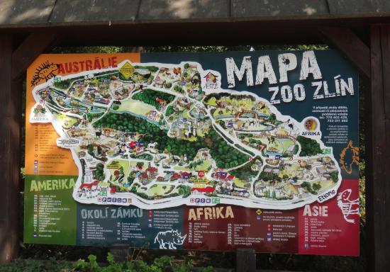 mapa zoo mapa ZOO   Picture of ZOO and Castle Zlin   Lesna, Zlin   TripAdvisor mapa zoo