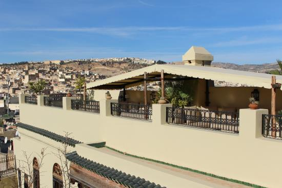 Riad Le Calife: View from rooftop