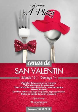 Vilagarcía de Arousa, España: San Valentín