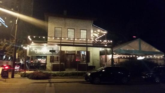Cool location - Picture of Moonshine Patio Bar & Grill ...