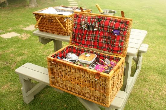 Tsitsikamma National Park, Afrique du Sud : Our picnic lunch