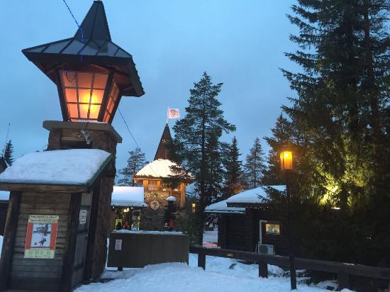 Santa Claus Holiday Village Photo