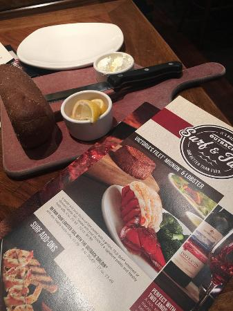 Salisbury, NC: Forget the frozen lobster tail, stick with the steak! & Bread, too!