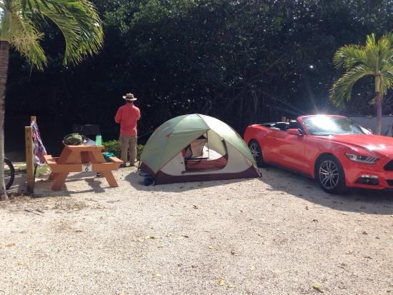 Rv Site Picture Of Leo S Campground Key West Tripadvisor