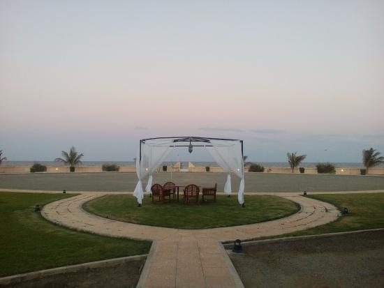 Masirah Island, Oman: garden view