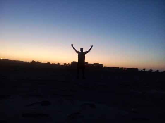 Masirah Island, Oman: walk on the beach