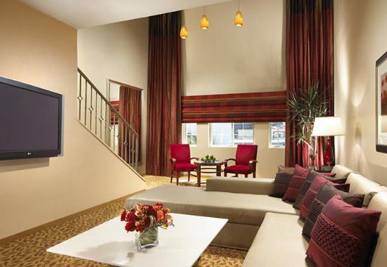 San Mateo, CA: Loft Suite Living Area