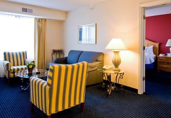 Residence Inn Wilmington Landfall: One-Bedroom Executive Suite - Living Area