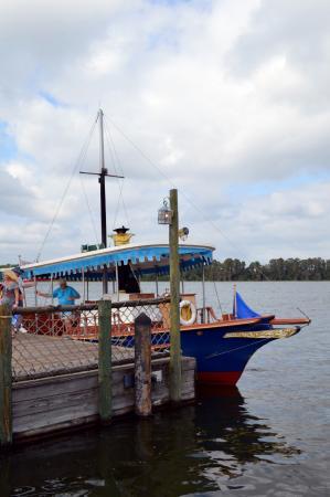 Embarcación de Disney