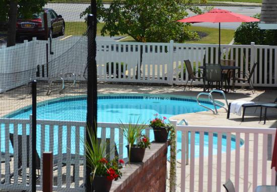 Amherst, NY: Outdoor Pool & Patio