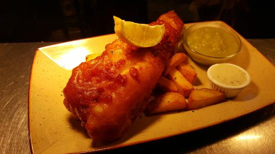 Blackburn, UK: The very best fish and chips
