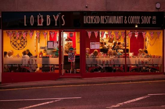 Alfreton, UK: Louby's
