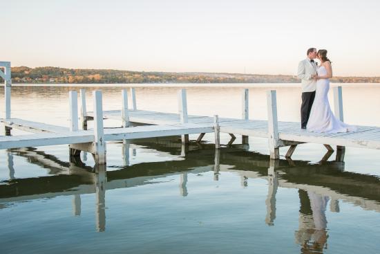 wedding lakeside picture of the ridge hotel lake geneva rh tripadvisor com