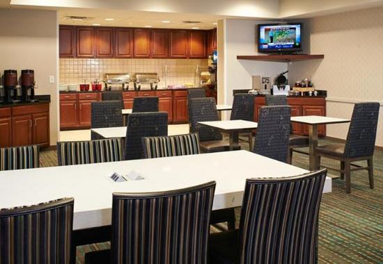 Saginaw, ميتشجان: Breakfast Dining Area