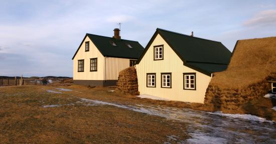 เฮลลา, ไอซ์แลนด์: Maisons du village