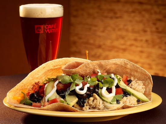 Springfield, OR: Original Yumm! Wrap™ with local craft beer