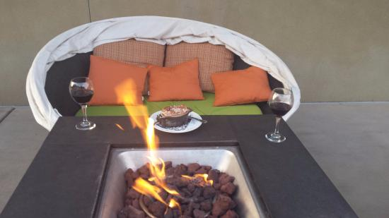 The Limelight Hotel: Fire Pit Table