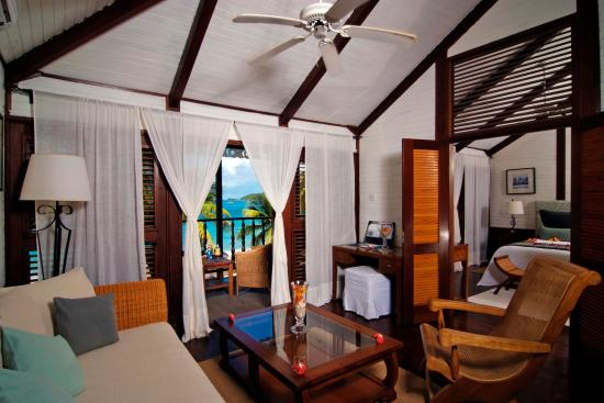 Charlestown, Canouan: Beachfront Suite