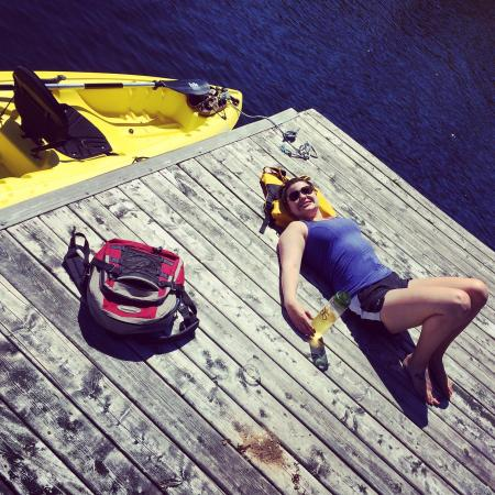 """Dartmouth, Canada: Kayaking on the """"Shubie Canal"""" Is absolutely one of our favourite things to do! It's so beautifu"""
