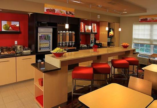 East Lansing, Мичиган: Breakfast Dining Area