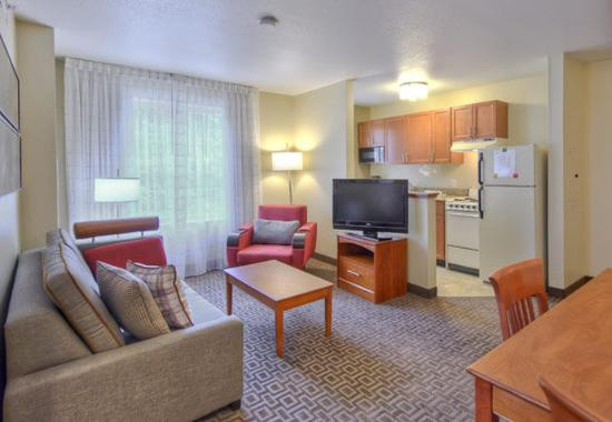 Cary, NC: Two-Bedroom Suite – Living Area