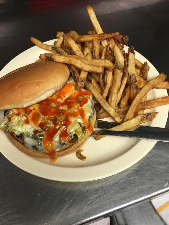 Fayetteville, AR: Fire Belly Burger!