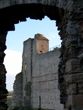 North Berwick, UK: Tower shot from Inside Castle