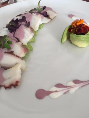 North Miami Beach, فلوريدا: Octopus with olive sauce