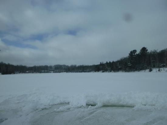 Minocqua, Ουισκόνσιν: Picture from the shack.