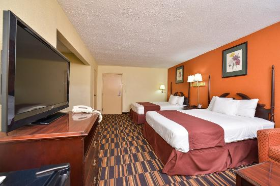 Americas Best Value Inn @ Newark Airport: Guest Room