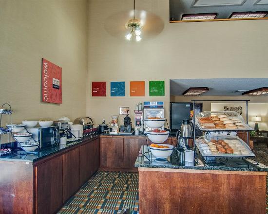 Rocky Mount, VA: Breakfast